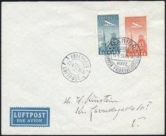 ERSTFLÜGE 218/9 BRIEF, 15.4.1939, MARIBO-COPENHAGEN, Sonderflug, Pracht, Müller 94 - Danemark