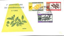 [902750]TB//-Rwanda 1963 - Anniversaire De L'indépendance, Fruits - Fruits