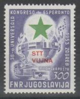 Stt-Vuja 1953 - Esperanto P.a. * - 2 Scan             (g6005) - Correo Aéreo