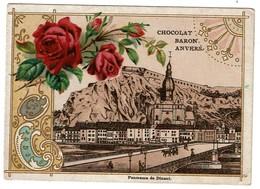 Chromo Chocolat Baron Anvers - Panorama De Dinant / Roses - 2 Scans - Chocolat
