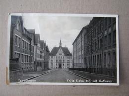 Germany / Trossingen - Fritz Kiehn Strasse Mit Rathaus, 1940. - Trossingen