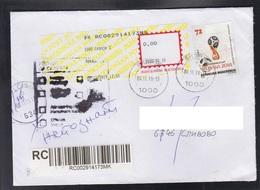 REPUBLIC OF MACEDONIA, 2018, MICHEL 844 - WORLD CUP RUSSIA ** - Wereldkampioenschap