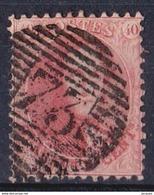 BELG  N°16 A   -  OBL. P 73  D.12 1/2 X 13 1/2    MEDAILLIONS DENTELES COTE 30,00 - 1863-1864 Medaillen (13/16)