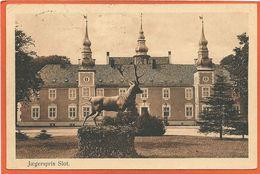 DK155,  * JAEGERSPRIS SLOT * SENT 1918 - Denmark