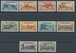 MAROKKO 77-86 *, 1928, Hilfe Für Überschwemmungsopfer, Falzrest, Prachtsatz, Mi. 60.- - Marokko (1956-...)