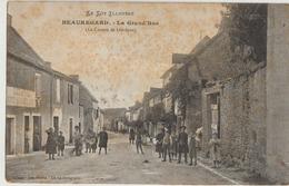 Beauregard  46   La Grand'Rue ( Canton De Limogne ) Tres Tres Animée-en Face De L'Hotel De France - Otros Municipios
