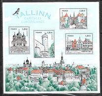 70 France F5212 Capitales Européennes Tallinn N++ Sous Blister - Blocs & Feuillets