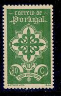 ! ! Portugal - 1940 Portuguese Legion 80c - Af. 588 - MH - 1910-... Republik