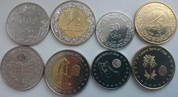 Libya - Set 4 Coins 50 100 Dirhams 1/2 1/4 Dinar 2014 UNC Lemberg-Zp - Libia