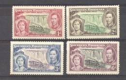 Rhodésie  Du Sud  :  Yv  36-39   *     ,,    N2 - Rodesia Del Sur (...-1964)
