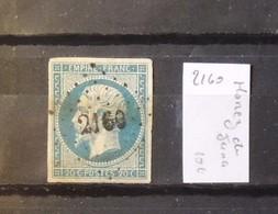 12 - 19 //  France N° 14 Oblitération 2160 - Morez Du Jura - Marcophilie (Timbres Détachés)