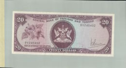 Billet De Banque Central Bank Of Trinidad And Tobago - 20 Dollars 1964   DEC 2019 Gerar - Trinité & Tobago
