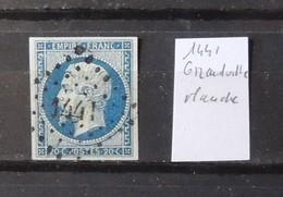 12 - 19 //  France N° 14 Oblitération 1441 - Grandville - Manche - Marcophilie (Timbres Détachés)