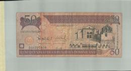 Billet De Banque Banco Central De La Republica Dominicana 50 Pesos Oro 2008   DEC 2019 Gerar - Dominicaine