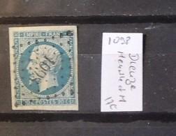 12 - 19 //  France N° 14 Oblitération 1098 - Dieuze - Meurthe Et Moselle - Marcophilie (Timbres Détachés)