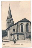 LAY SAINT CHRISTOPHE  54  L' église Animée En 1909 - France