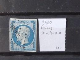12 - 19 //  France N° 14 Oblitération 2480 - Poissy - Seine Et Oise - Marcophilie (Timbres Détachés)