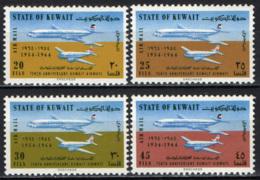 KUWAIT - 1964 - Dakota And Comet Planes - 10th Anniversary Of Kuwait Airways - MNH - Kuwait