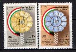 KUWAIT - 1971 - Tenth Anniversary Of National Day - MNH - Kuwait