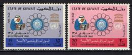 KUWAIT - 1968 - Issued For International Literacy Day - MNH - Kuwait