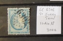 12 - 19 //  France - Bureaux Supplémentaires - GC 6302 - St Juery - Tarn - Indice 18 - Marcophilie (Timbres Détachés)