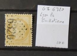 12 - 19 //  France - Bureaux Supplémentaires - GC 6320 - Lyon La Guillotiere - Marcophilie (Timbres Détachés)