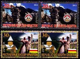 Europa - 2012 - South Ossetia **Georgia**  Local Issue ** MNH - Europa-CEPT