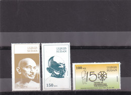 Stamps SUDAN 2019 MAHATMA GANDHI INDIA BIRTH 150 ANNIV. MNH HIGH VALUES SCARES - India