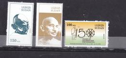 Stamps SUDAN 2019 MAHATMA GANDHI INDIA BIRTH 150 ANNIV. MNH HIGH VALUES SCARES - Mahatma Gandhi