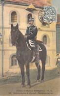 MILITARIAT - ARMEE Et MARINE FRANCAISE : Uniforme De La Gendarmerie à Cheval - Nouvelle Tenue - CPA Colorisée 1907- - Militaria