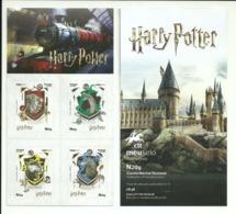Portugal 2019 - Harry Potter Booklet Houses Symbols - Libretti