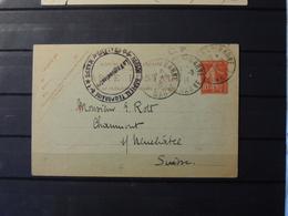 12 - 19 //  France -  Enter De Chalons Sur Marne à Destination De Neuchatel - Suisse // Cachet Hopital Temporaire - Marcophilie (Lettres)