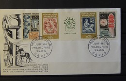 12 - 19 //  France - FDC Du Philatec - Paris - 1964 - 1950-1959