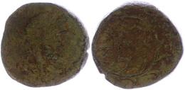 AE(4,13g), Ca. 146-143 V. Chr. Av: Kopf Des Zeus Nach Rechts. Rev: 3 Zeilen Schrift, Darum Kranz. SNG Kopenhagen 444ff., - Antique