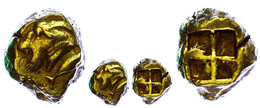 Kyzikos, Elektron Stater (16,14g), 550-500 V. Chr. Av: Ziegenkopf Nach Links, Rechts Thunfisch. Rev: Vierfach Geteiltes  - Antique