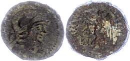 Seleukeia Ad Calykadnum, AE (7,71g), Ca. 2./1. Jahrhundert V. Chr. Av: Behelmter Athenakopf Nach Rechts, Dahinter Buchst - Antique