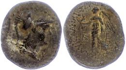 Seleukeia Ad Calykadnum, AE (8,35g), Ca. 2./1. Jahrhundert V. Chr. Av: Behelmter Athenakopf Nach Rechts, Dahinter Buchst - Antique