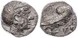 Sabäer, Drachme (5,10g), Ca. 3. Jahrhundert. V. Chr.. Av: Athenakopf Mit Attischem Helm Nach Rechts. Rev: Stehende Eule  - Antique