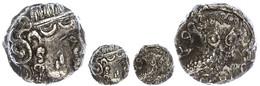 Sabäer, Drachme (5,25g), Ca. 3. Jahrhundert V. Chr.. Av: Athenakopf Mit Attischem Helm Nach Rechts. Rev: Stehende Eule N - Antique