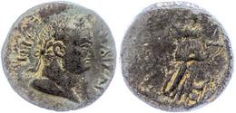 Kilikien, Anemurion, AE (8,81g), Titus, 79-81, Av: Kopf Nach Rechts, Darum Umschrift, Rev: Stehende Artemis Nach Rechts, - 3. Province