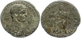 Kilikien, Tarsos, AE (20,33g), Caracalla, 198-217. Av: Büste Nach Rechts, Darum Umschrift. Rev: Caracalla Steht Nach Lin - 3. Province