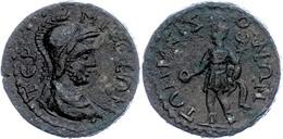 Pisidien, Tremessos, Æ (10,82g), 3. Jhd. Nach Chr., Pseudoautonome Prägung. Av: Behelmte Büste Des Solymos Nach Rechts,  - 3. Province