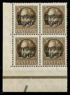 BAYERN Nr 152A Postfrisch VIERERBLOCK ECKE-ULI X8098B6 - Bayern