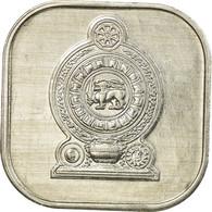 Monnaie, Sri Lanka, 5 Cents, 1988, SUP, Aluminium, KM:139a - Sri Lanka