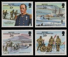 BAT / Brit. Antarktis 1987 - Mi-Nr. 140-143 ** - MNH - Falcon Scott - Ungebraucht