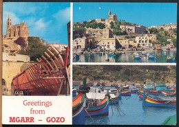 °°° 14830 - MALTA - GREETINGS FROM MGARR GOZO °°° - Malta