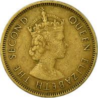 Monnaie, Hong Kong, Elizabeth II, 10 Cents, 1964, TTB, Nickel-brass, KM:28.1 - Hong Kong