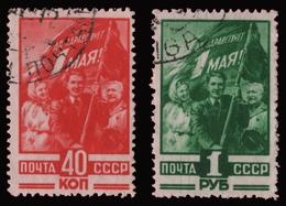 Russia / Sowjetunion 1949 - Mi-Nr. 1341-1342 Gest / Used - 1923-1991 UdSSR