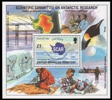 BAT / Brit. Antarktis 1996 - Mi-Nr. Block 3 ** - MNH - Konferenz SCAR - Ungebraucht