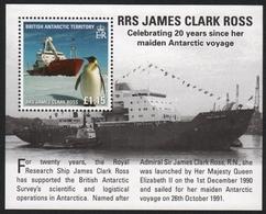 BAT / Brit. Antarktis 2011 - Mi-Nr. Block 21 ** - MNH - Schiffe / Ships - Ungebraucht